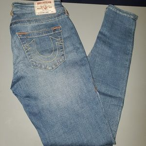 True Religion Jeans. Curvy fit. Size 28